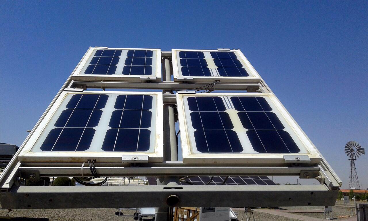 Solar Panels Demonstrator